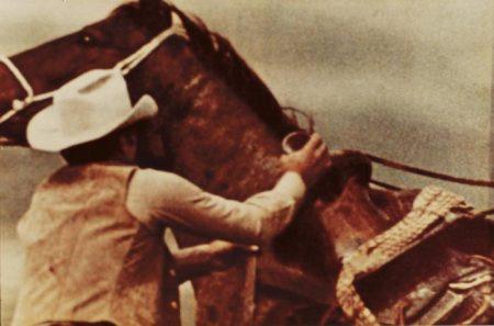 Richard Prince-Cowboy Saddling Horse-1983