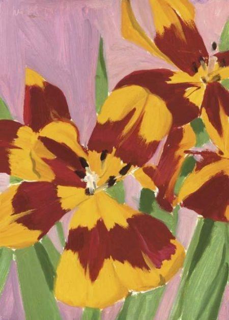 Alex Katz-Tulips-1969