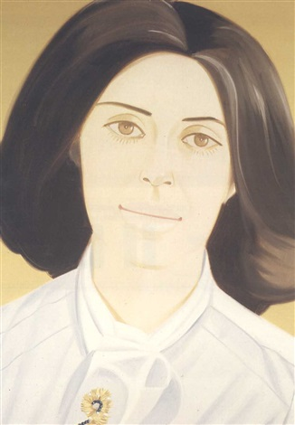 Alex Katz-Portrait of Maxine-1980