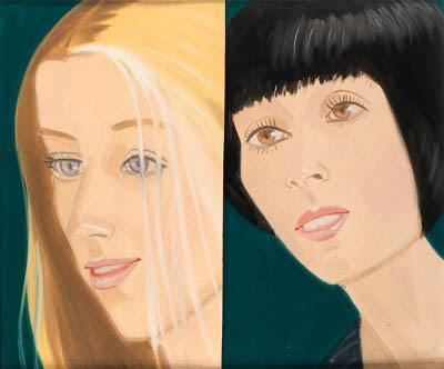 Alex Katz-Study for Times Square Mural-1977