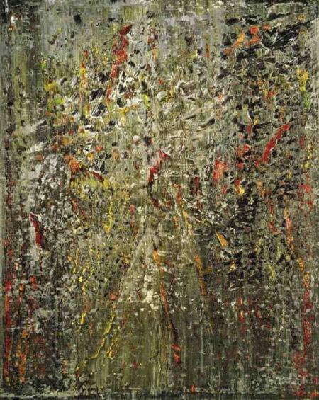 Gerhard Richter-Abstraktes Bild 666-4 (Abstract Painting 666-4)-1988