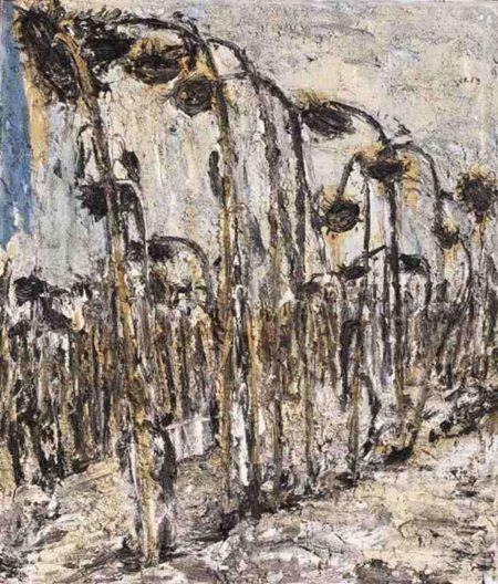 Anselm Kiefer-Sonnenblumen I-1995