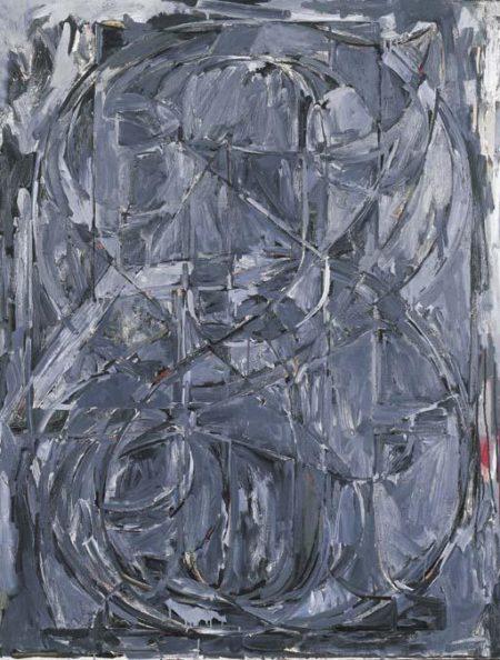 Jasper Johns-O Through 9-1961