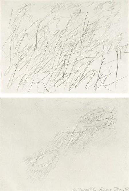 Cy Twombly-Roma-1957