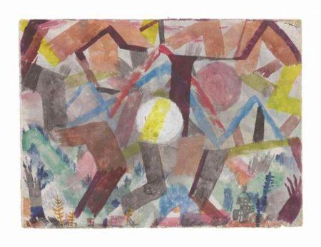 Paul Klee-Ohne Titel-1917