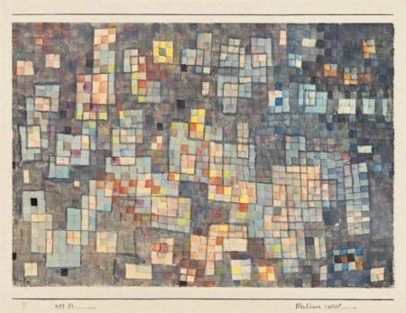 Paul Klee-Glashauser viertel-1927