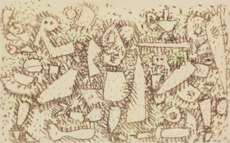 Paul Klee-Zerbrechliches Ubermutig-1937