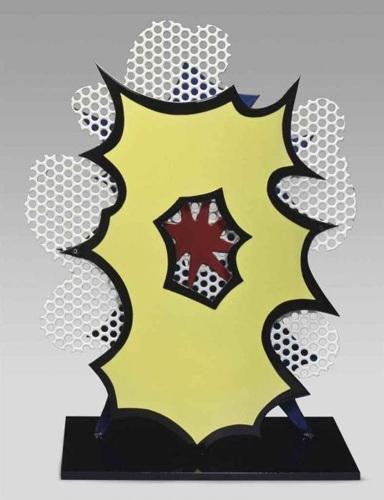 Roy Lichtenstein-Desk Explosion-1965