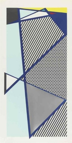 Roy Lichtenstein-Imperfect Print for B.A.M.-1987