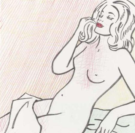 Roy Lichtenstein-Nude Sunbathing-1995