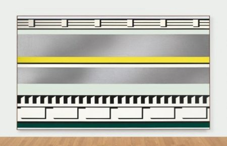 Roy Lichtenstein-Entablature-1975