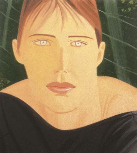 Alex Katz-Kim-1990