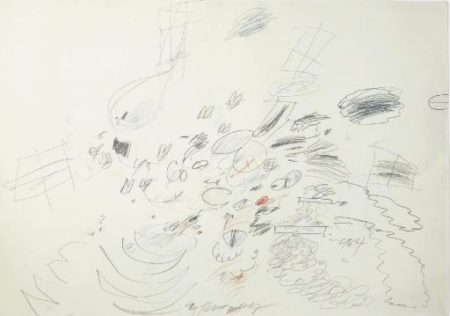 Cy Twombly-Val Gardena-1964