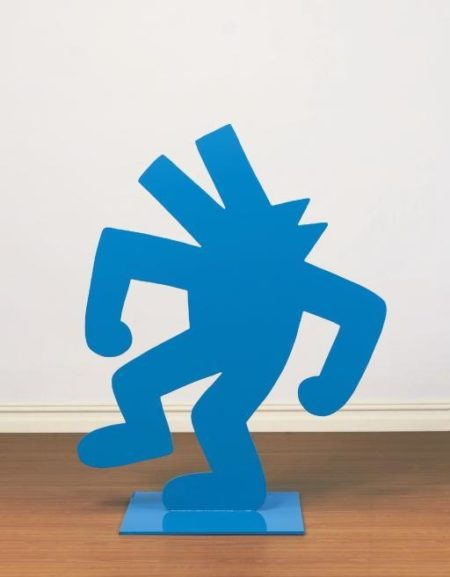 Keith Haring-Keith Haring - Blue Dog-1985