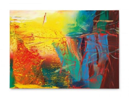 Gerhard Richter-Cythera Skizze-1986