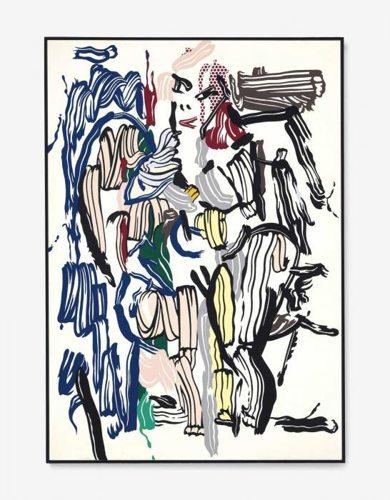 Roy Lichtenstein-Woman II-1982