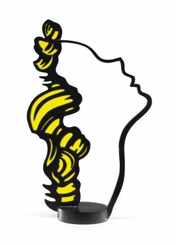 Roy Lichtenstein-Profile Head V-1988