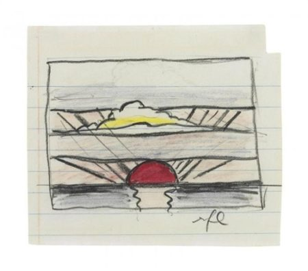Roy Lichtenstein-Sunrise-1964