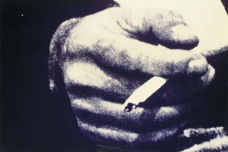 Man's Hand with Cigarette-1980