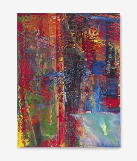 Gerhard Richter-Abstraktes Bild 613-2 (Dunkel)-1986