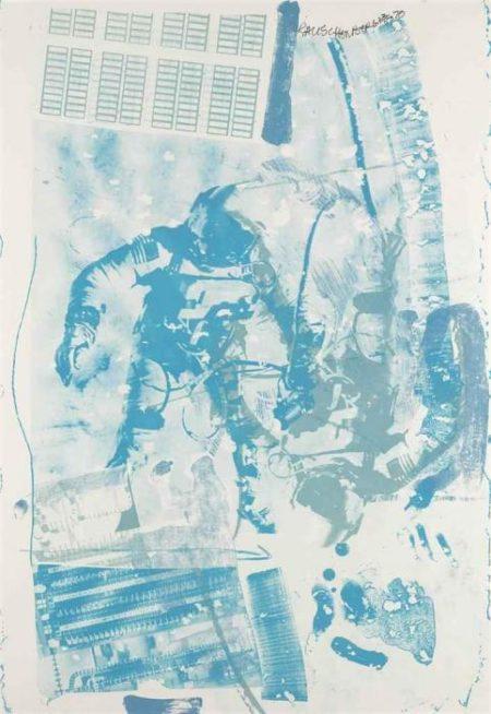 Robert Rauschenberg-Robert Rauschenberg - White Walk-1970