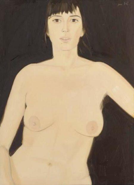 Alex Katz-Erika-1982