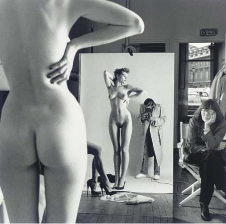 Autoportrait With Wife And Models (1981)-1981