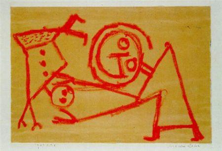 Paul Klee-Artisten Lehre-1939