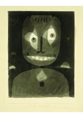 Paul Klee-Dummer Teufel (Dumb Devil)-1938