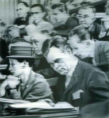 Gerhard Richter-Der Kongress, Professor Zander-1965