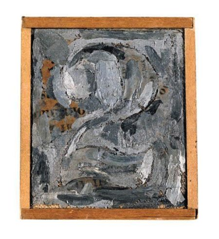 Jasper Johns-Figure 2-1956