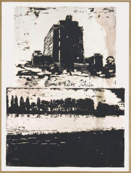 Anselm Kiefer-Der Rhein (Vertikal)-1982
