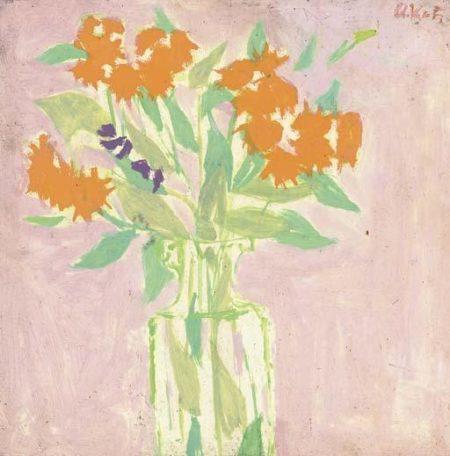Alex Katz-Vase of Flowers-1951