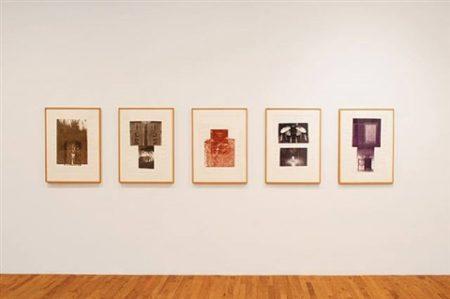 Robert Rauschenberg-Robert Rauschenberg - Glacial Decoy Series: five prints-1979