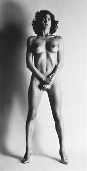 Helmut Newton-Big Nude III: Henrietta-1980