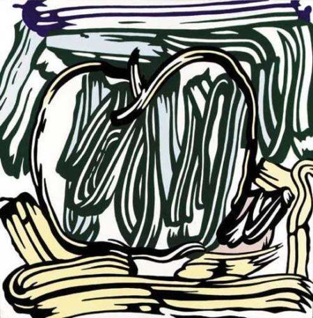 Roy Lichtenstein-Green Apple-1981