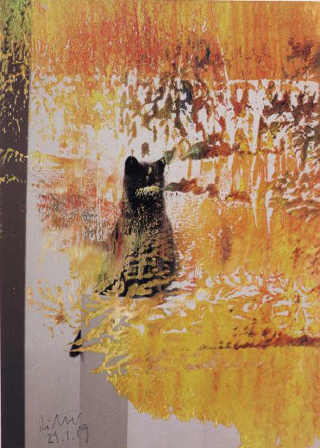 Gerhard Richter-Ohne Titel (29.1.89 / Untitled (29.1.89)-1989