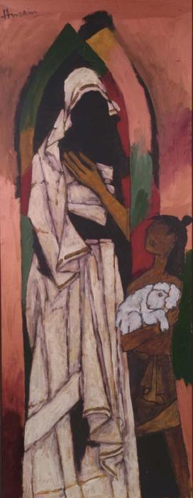 Maqbool Fida Husain-Mother Teresa-