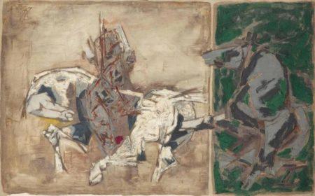Maqbool Fida Husain-Untitled-1967