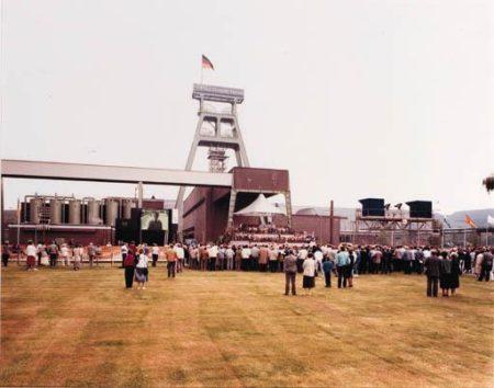 Papstprobe in Bottrop-1987