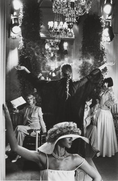 Helmut Newton-Marc Bohan pour Dior, Vogue, Paris-1977