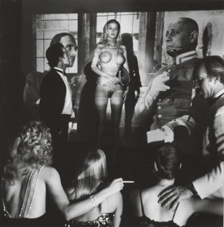Helmut Newton-Hugh Hefner's Projection Room (1986)-1986