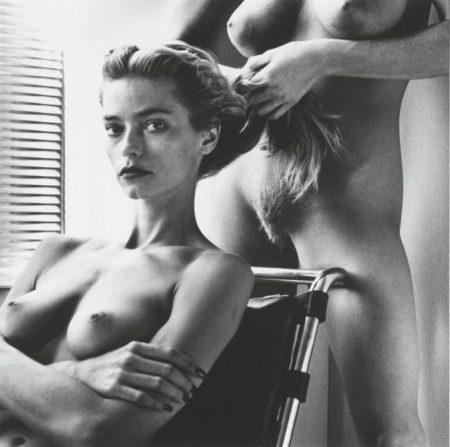 Helmut Newton-Two Playmates, Hollywood-1986