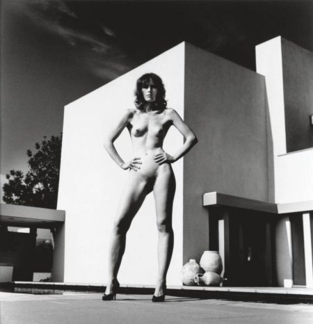 Helmut Newton-Miss Livingston II, Beverly Hills-1981