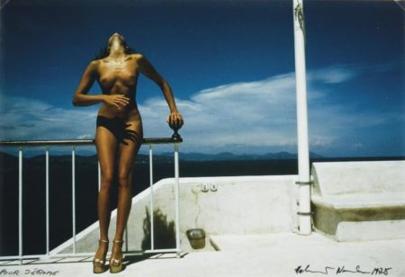 Helmut Newton-Nude for Pentax-1975