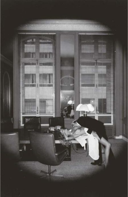 Helmut Newton-Office Love Paris-1977