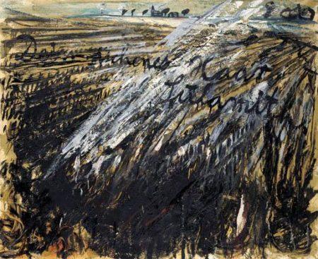 Anselm Kiefer-Untitled (Dein Aschenes Haar, Sulamith)-1981