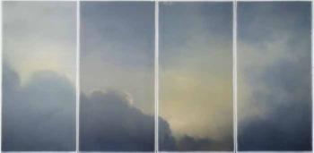 Gerhard Richter-Wolken (Fenster) / Clouds (Window)-1970