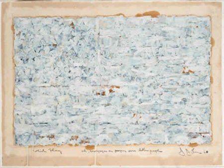 Jasper Johns-White Flag-1960