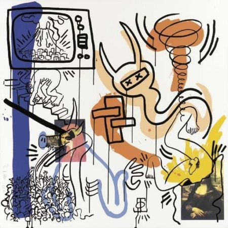 Keith Haring-Keith Haring - Untitled, from Apocalypse-1988